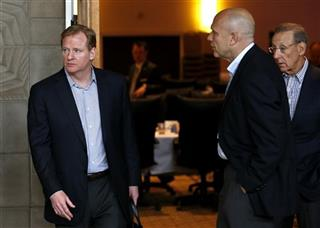 Stephen Ross, Mike Dee, Roger Goodell