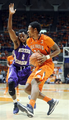 Western Carolina Illinois Basketball