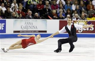 Alexa Scimeca and Christopher Knierim