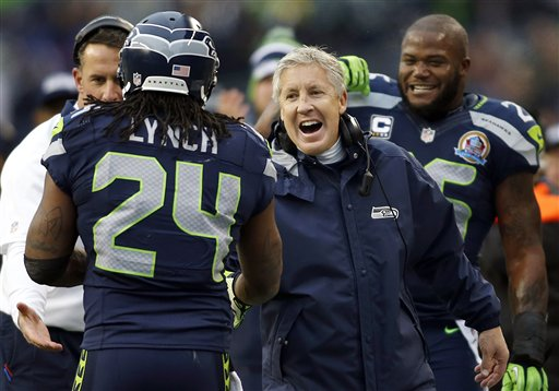 Pete Carroll, Marshawn Lynch