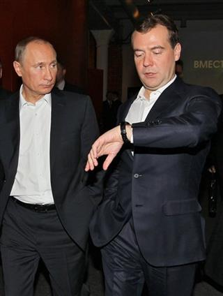 Dmitry Medvedev, Vladimir Putin