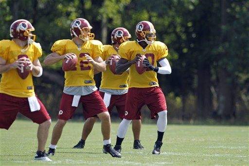 Rex Grossman, Kirk Cousins, Jonathan Crompton, Robert Griffin III