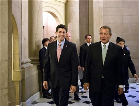 Paul Ryan, John Boehner