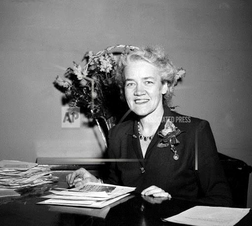 Associated Press Domestic News Dist. of Columbia United States MARGARET CHASE SMITH