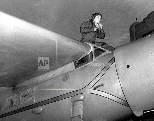 Associated Press Domestic News California United States AMELIA EARHART