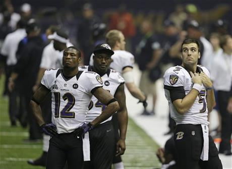 Joe Flacco ,Jacoby Jones,Adrian Hamilton