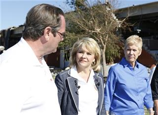 Mary Fallin, Janet Barresi, Greg Winters