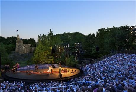 Theater-Delacortes Birthday