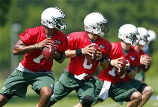 Geno Smith, Mark Sanchez, Greg McElroy, Matt Simms