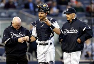Francisco Cervelli, Steve Donohue, Joe Girardi