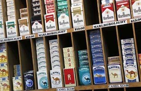 Cigarettes Marlboro sold Massachusetts