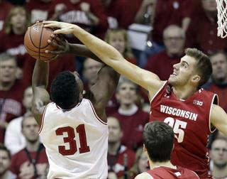 Wisconsin Indiana Basketball