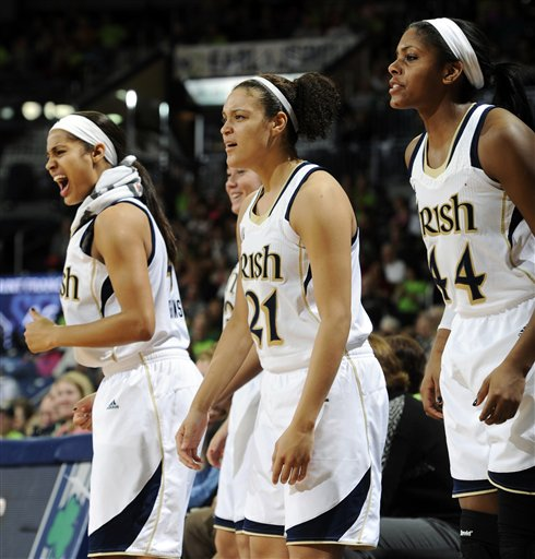 Skylar Diggins,Kayla McBride,Ariel Braker