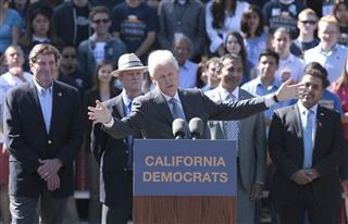 John Garamendi, Jerry McNerney, Bill Clinton, Ami Bera, Jose Hernandez, 