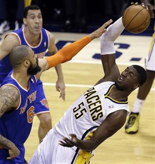 Roy Hibbert, Tyson Chandler