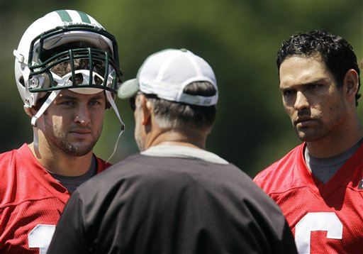Mark Sanchez, Tim Tebow, Matt Cavanaugh