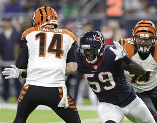 Whitney Mercilus, Andy Dalton