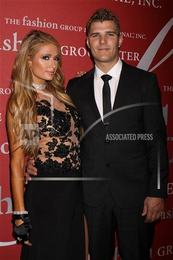 STRMX Star Max/IPx A ENT New York USA IPX Paris Hilton and Chris Zylka are engaged