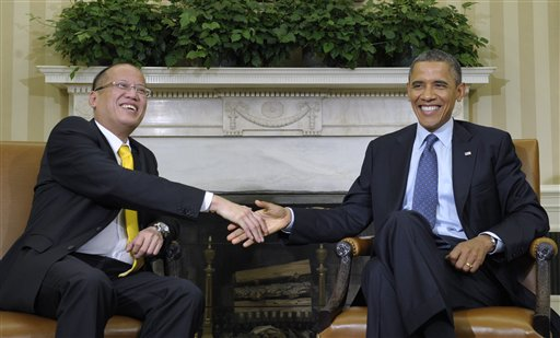 Barack Obama, Benigno Aquino