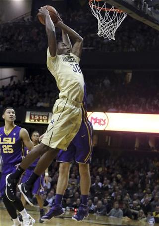 LSU Vanderbilt Basketball
