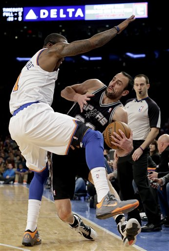 Manu Ginobili, Amare Stoudemire