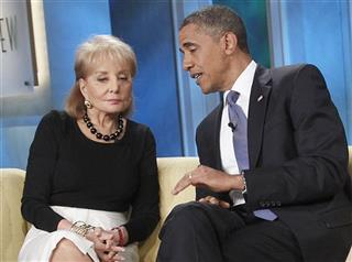 Barack Obama, Barbara Walters