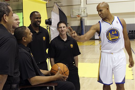 Richard Jefferson, Mark Jackson