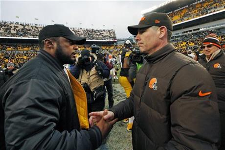 Mike Tomlin, Pat Shurmur