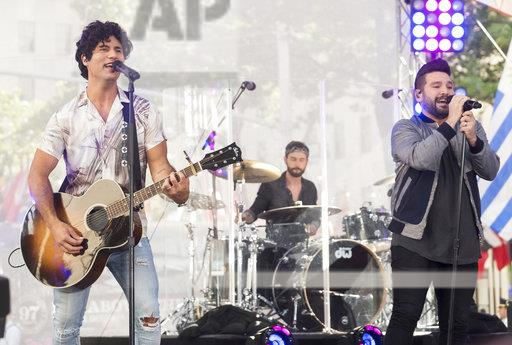 "Dan and Shay Perform on NBC's ""Today"" Show"