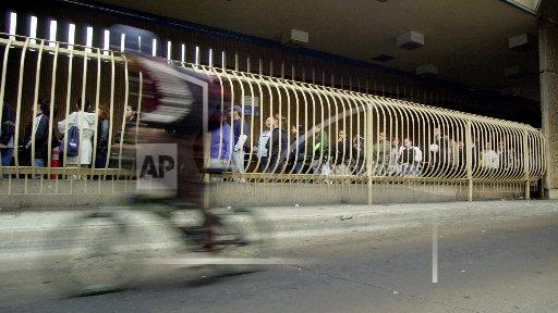 Associated Press Domestic News California United States West BORDER BIKES