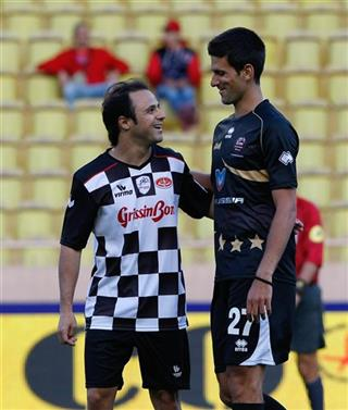 Novak Djokovic, Felipe Massa