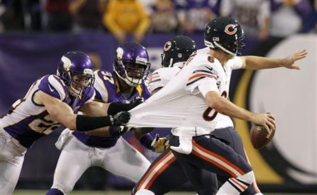 Jay Cutler, Harrison Smith, Everson Griffen