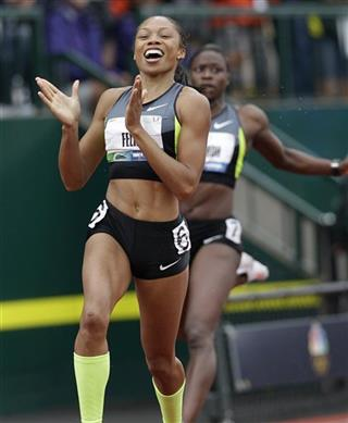 Allyson Felix, Jeneba Tarmoh