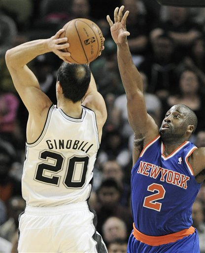 Manu Ginobili, Raymond Felton