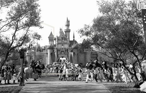 AP Was There Disneyland Opening 1955