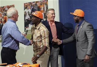 John Elway, John Fox, Montee Ball, Kayvon Webster