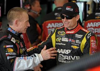 Mark Martin, Jeff Gordon