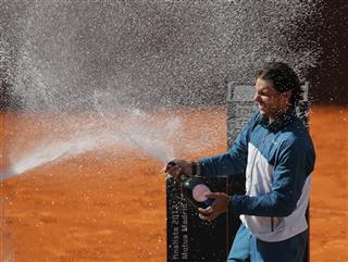 Rafael Nadal,  Stanislas Wawrinka from Switzerland
