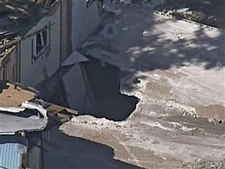 Sinkhole Swallows Man