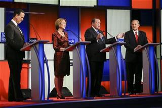 Rick Santorum, Carly Fiorina, Mike Huckabee, Jim Gilmore