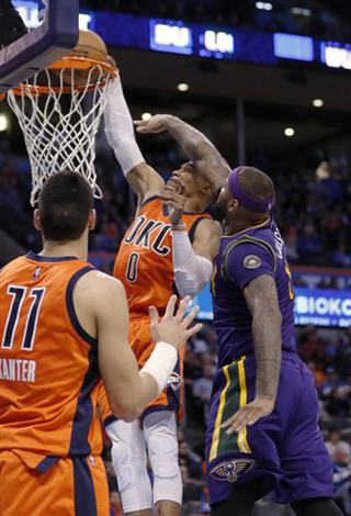 Russell Westbrook, DeMarcus Cousins