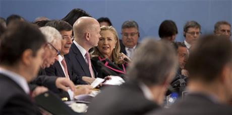 Hillary Clinton, William Hague