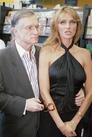 Hugh and Kimberley Hefner 1995