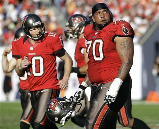 Donald Penn, Connor Barth