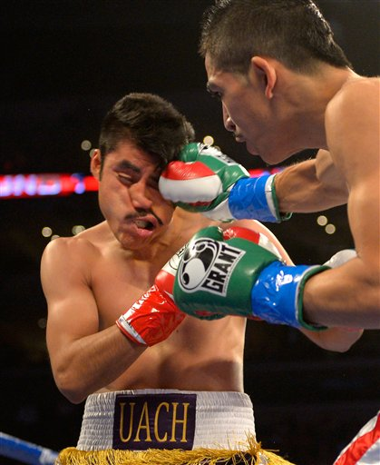 Leo Santa Cruz, Victor Zaleta