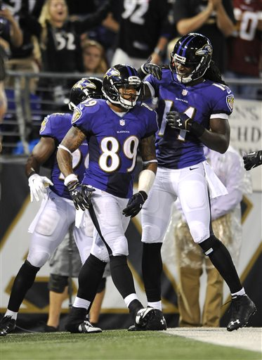 Justin Forsett, Steve Smith, Marlon Brown
