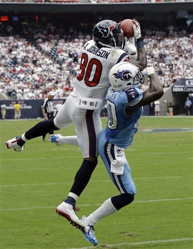 Andre Johnson, Jason McCourty