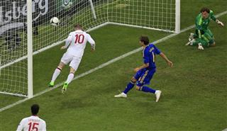Soccer Euro 2012 England Ukraine