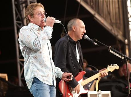 Roger Daltry Pete Townshend
