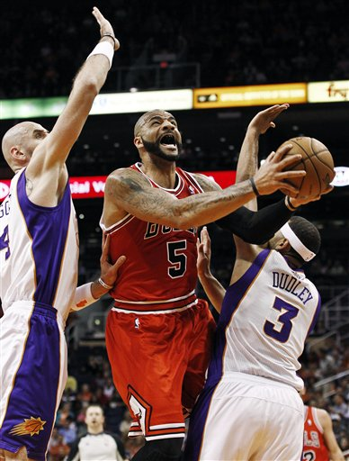 Carlos Boozer, Marcin Gortat, Jared Dudley